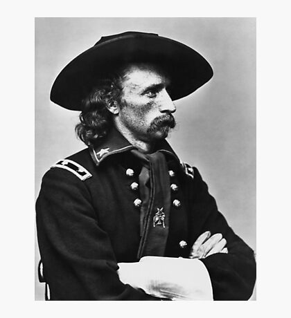 General Custer - Civil War  Photographic Print