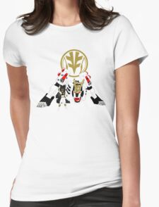 WHITE TIGER RANGER Womens Fitted T-Shirt