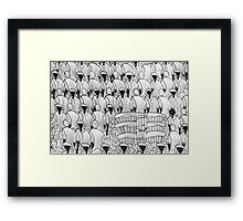 people of tropical climate Framed Print