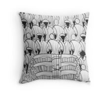 people of tropical climate Throw Pillow