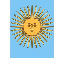 Sol de Mayo- The Sun of May Photographic Print