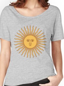 Sol de Mayo- The Sun of May Women's Relaxed Fit T-Shirt
