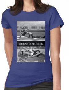 Where Is My Mind Summer Vibes Womens Fitted T-Shirt