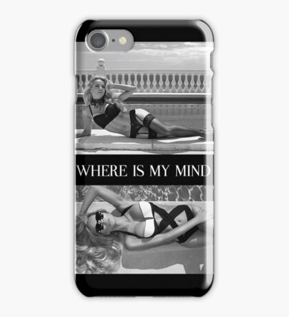 Where Is My Mind Summer Vibes iPhone Case/Skin