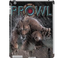 Prowl on Cliff iPad Case/Skin