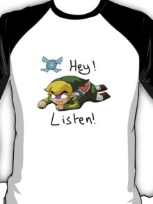 Link & Navi - The Legend Of Zelda T-Shirt