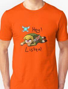 Link & Navi - The Legend Of Zelda Unisex T-Shirt