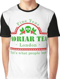 MoriarTea Christmas Graphic T-Shirt