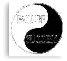 Failure Success Canvas Print