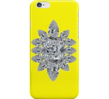 Bling Brooch Bright Yellow Iphone Cover iPhone Case/Skin
