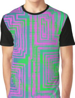 Maze of Peace Graphic T-Shirt