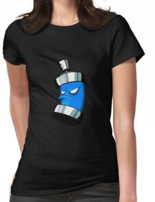 SPRAY CAN !!! Womens Fitted T-Shirt