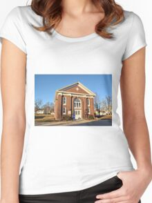 Clemons Bank Women's Fitted Scoop T-Shirt