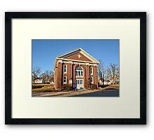 Clemons Bank Framed Print