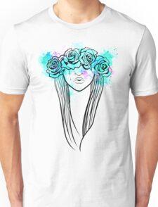 Elegant Mask - Light Background Unisex T-Shirt