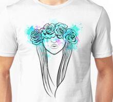 Elegant Mask - Light Background T-Shirt