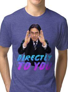 Directly To You - Satoru Iwata Tri-blend T-Shirt