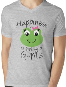Happiness Is Being A G-Ma Mens V-Neck T-Shirt