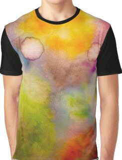 A Dip in Water Color Graphic T-Shirt