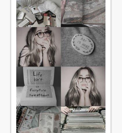 Sabrina Carpenter (collage) Sticker