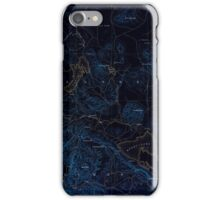 USGS TOPO Map California CA Honey Lake 299783 1886 250000 geo Inverted iPhone Case/Skin