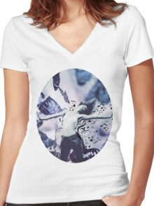 Music is Me Women's Fitted V-Neck T-Shirt
