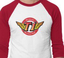 SKT T1 Logo (best quality ever) Men's Baseball ¾ T-Shirt
