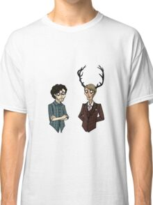 Will Graham and Hannibal Lecter Classic T-Shirt