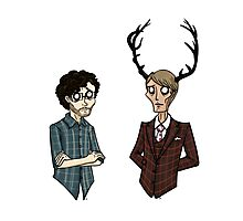 Will Graham and Hannibal Lecter Photographic Print