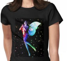 Fairy in stars 3 Womens Fitted T-Shirt