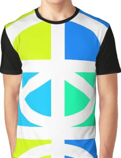Blocks of Peace Graphic T-Shirt