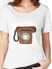 Wooden telephone Women's Relaxed Fit T-Shirt