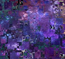 Glitched Galaxy by YourFaceInHD