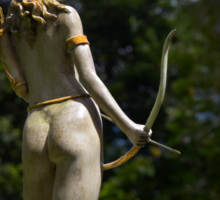 Diana, Goddess Of The Hunt Sticker