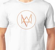 Watch dogs 2 logo (fan-art) logo Unisex T-Shirt