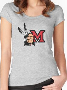 Miami Redskins Women's Fitted Scoop T-Shirt
