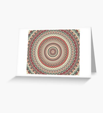 Mandala 186 Greeting Card