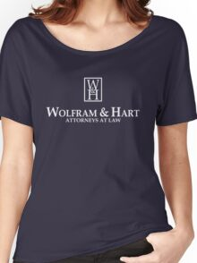 Wolfram & Hart - Attorneys At Law Women's Relaxed Fit T-Shirt