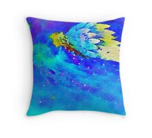 Angel,water color,hand painted, beautiful Throw Pillow
