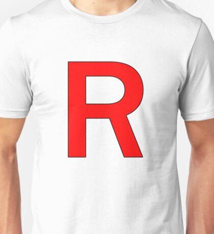 Team Rocket R Logo Unisex T-Shirt