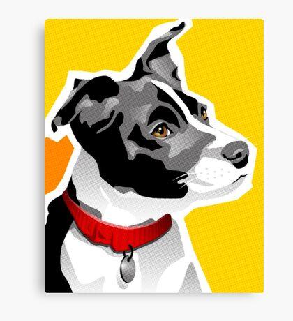 SPEEDY - Boston Rat Terrier Canvas Print