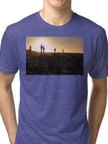 Photographers At Sunset Tri-blend T-Shirt