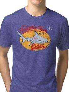 Dangerous Waves Riders Vintage Tri-blend T-Shirt