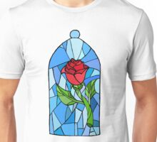 Stained glass Rose  Unisex T-Shirt