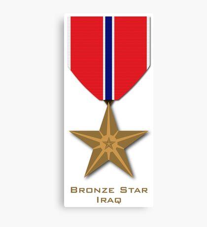 Bronze Star - Iraq Canvas Print