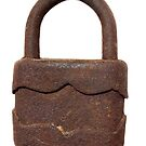 Rusty padlock by sattva