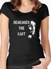 Remember the Cant (Ganymede) Women's Fitted Scoop T-Shirt