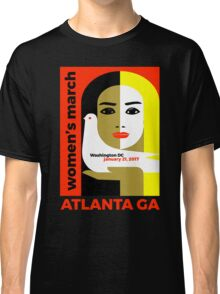 Women's March On Washington 2017 - Atlanta Georgia Classic T-Shirt