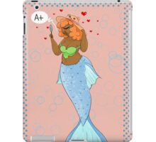 A mermaid's mirror  iPad Case/Skin