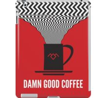 Twin Peaks Phone Cases | Damn Good Coffee iPad Case/Skin